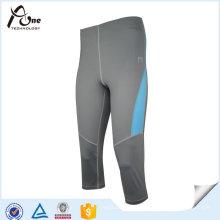 Sport Kompression Knie Strumpfhose Damen Lycra Sportbekleidung