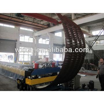 Máquina de dobra hidráulica folha