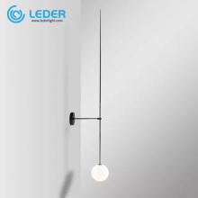 LEDER Black Reading Wall Lamp