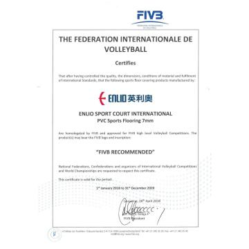 Tapis de sol Volleyball FIVB
