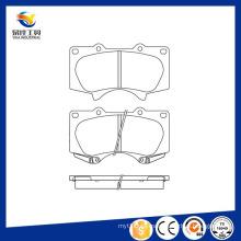 Venta caliente piezas de chasis de auto para las almohadillas de freno de Toyota 04465-35290 / 24024 / D976