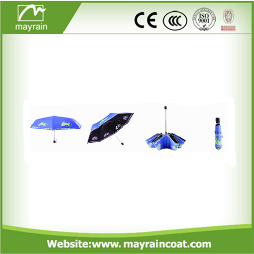 Three Folding Open Umbrella