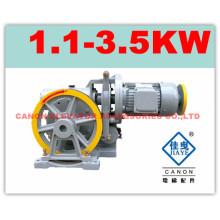 Canon 100KG elevador máquina de tração para elevadores