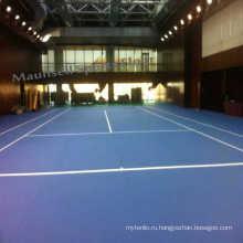 Профессиональный PSP / ПВХ Открытый теннисный спортивный пол