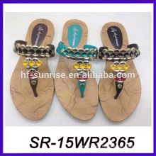 Sandalia de la playa de la manera para las muchachas flip flop sandal sandal shoe