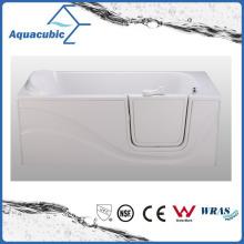 Acrylic Walk-in Wheelchair Safe Bathtub for Disabled (AB-3060JW)