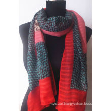 Fashion Polyester Printed Scarf