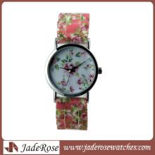 New Arrival Beautiful Flower Strap Geneva Brand Wrist Watch
