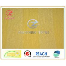 21W N / P Разделительная планка Вельветовая ткань желтого цвета (ZCCF025)