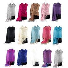 Best Selling Paisley Infinity Scarf Female Jaquard Stole Long Hijab Wrap Air conditioning cape