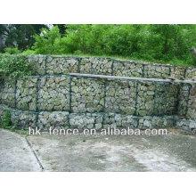 steel hexagonal wire mesh gabion basket/ Gal hexagonal wire gabion