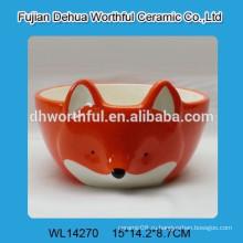 Чаша для питомцев из керамической лисы