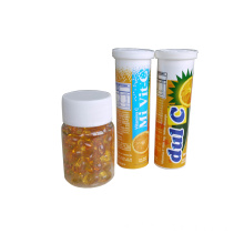 GMP tableta efervescente de vitamina C 1G