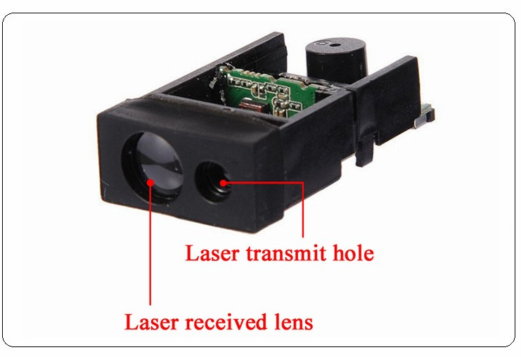60m high frequency Laser Distance Sensor