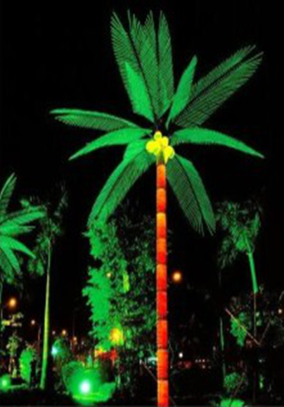6M LED Coconuts Tree Lights