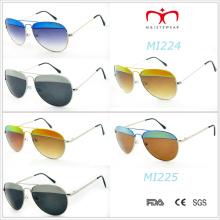 2015 Latest Fashion Design and Color Metal Sunglasses (MI224&MI225)