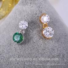 vente chaude usine prix direct petites boucles d'oreilles or avec la meilleure qualité et bas prix