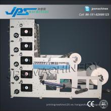 Máquina de impresión de papel kraft de cinco colores