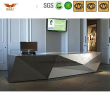 Popular Wooden Office Furniture Reception Desk for Interior Contracting (HY-Q23)