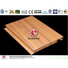4D Деревянные алюминиевые панели.