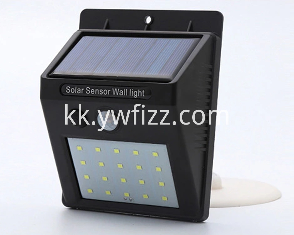 Solar Energy Sensor Wall Lamp