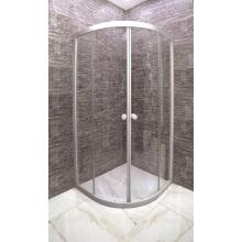Arc Shape Tempered Glass Bath Shower room