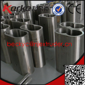 Twin screw extruder Bimetallic sleeve liner /bimetallic bushing