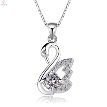 Fashion Jewelry 925 Silver Custom Swan Pendant