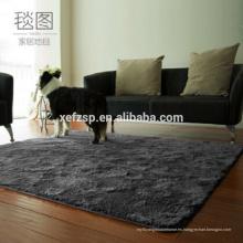 planos de la casa alfombras de alfombra de poliéster moderno 100% alfombras de lana gruesa impresa resistente al agua
