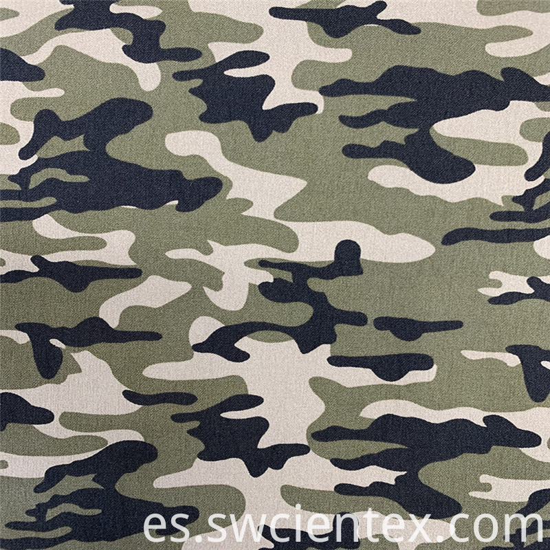 Customized Camouflage Printed Fabric