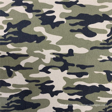 Top Material Camouflage Printed NR Bengaline Garment Fabric