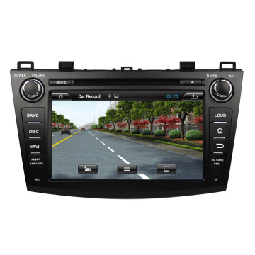 MAZDA 3 2009-2012 Montierter DVD-Player