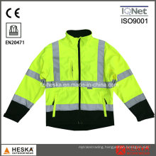 High Visibility Welding Yellow Security Jacket