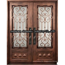 High Quality Elegant Security Exterior Panel Door