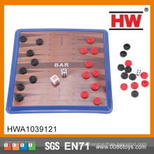 Hot Sale Cheap Kids Educational Board Game Plastic Backgammon Set
