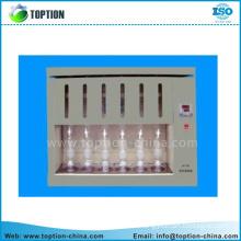 Glass soxhlet extractor