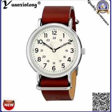 Yxl-128, Сделано в Китае рекламные часы мужчины нейлон ремешок НАТО кварцевый часы дамы платье наручные часы оптом