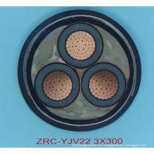 Suministro XLPE insualted cable de alimentación de la construcción de la chaqueta del PVC