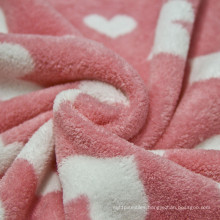 Hot Sale 100% Polyester Coral Fleece Fabric