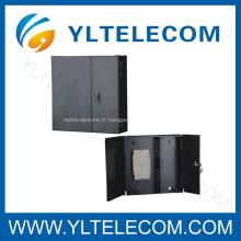 24 core mural fibre optique câble enceinte Terminal