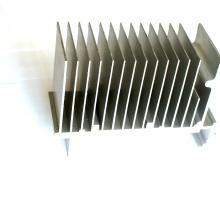 Dissipador de calor de alumínio série 6000 personalizado usado na indústria