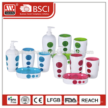 Customized screw cap+lotion pump plastic containers for shampoo
