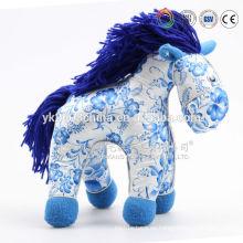 Caballo de felpa para niños, juguetes de caballo personalizados, niños saltando norma de seguridad CE / ASTM caballo,