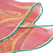 Delicate High Quantity Hand Rolled Silk Scarf
