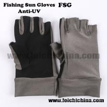Gants de soleil Glacier Glove Protection UV Gilets de pêche à la mouche à l'extérieur
