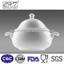 Fine porcelain soup tureen bone china tureen