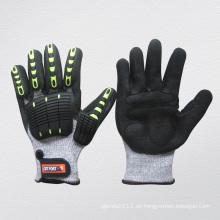 High Impact Nitril Palm TPR Schutzhandschuh-5057