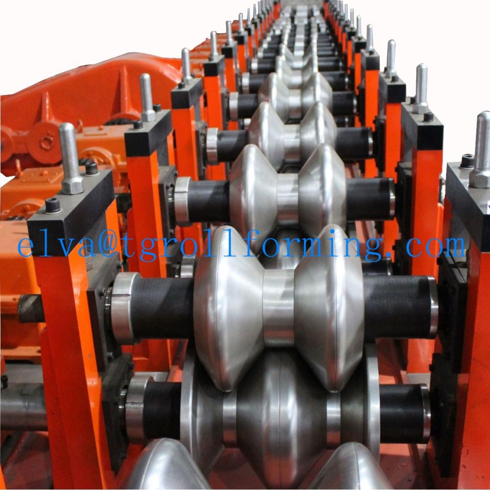 3 Waves Highway Guardrail equipment