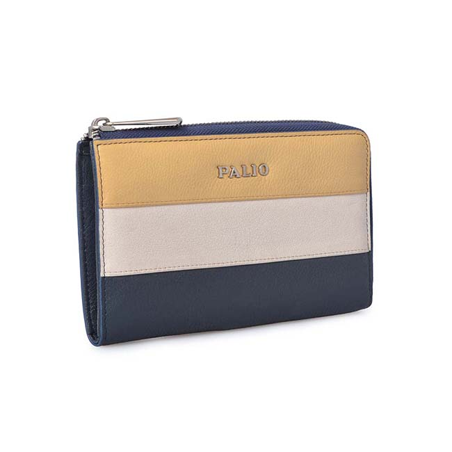 leather wallet ladies tassel short paragraph purse stitching simple multi-function mini wallet