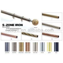 TPH25-SS Steel Curtain Pole End cap